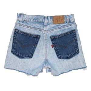 Reworked Levi's Shorts